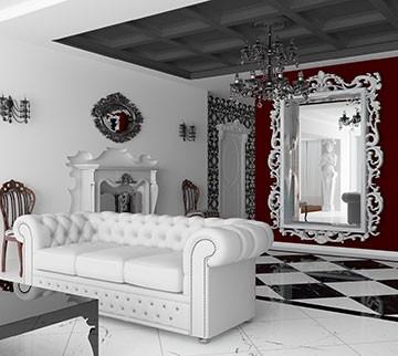 Весеннее обновление интерьера лепным декором: содружество классики и современности