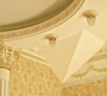Полиуретановый декор ЕВРОПЛАСТ и украшение интерьера в работах Натальи Крыловой