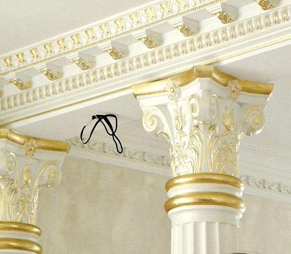 Дизайнерский потолок от Натальи Крыловой