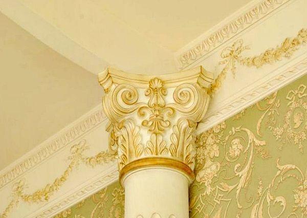 Декорирование колонн