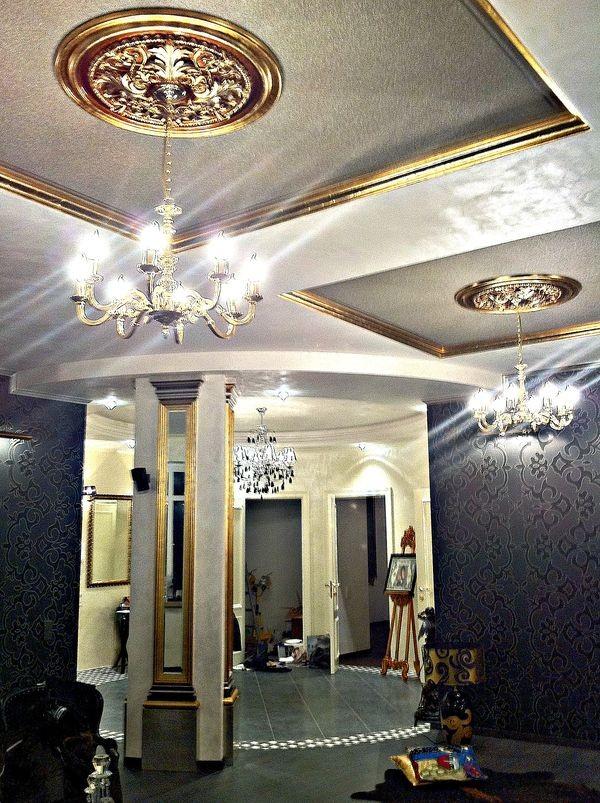 Красивый потолок от дизайнера Натальи Крыловой
