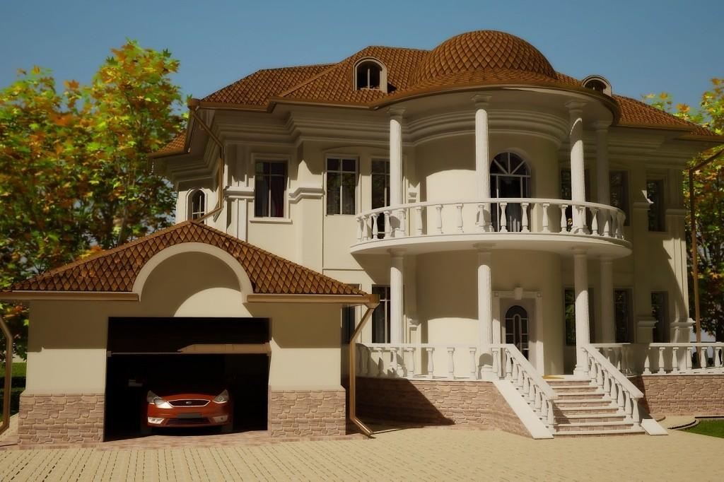 Фасадный декор дома