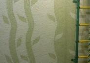 Бамбуковый рай с жидкими обоями