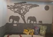Африканские нотки в интерьере