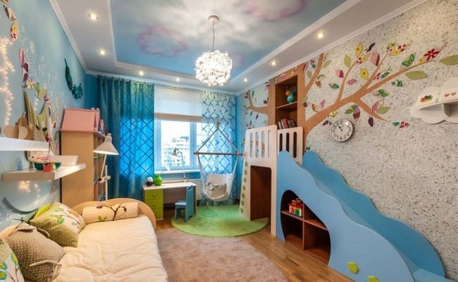 Какие купить обои для детской комнаты