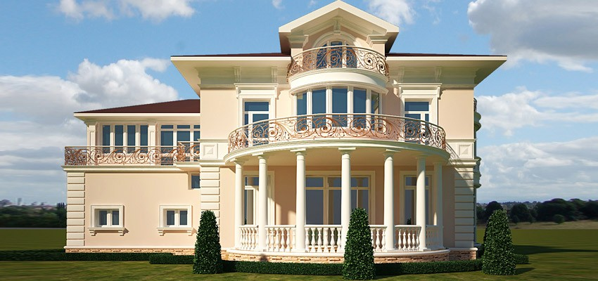 Купит фасадный декор