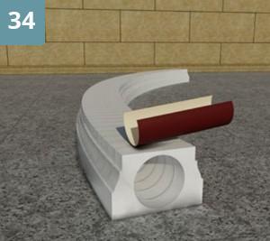 Наждачной бумагой зачистить все неровности
