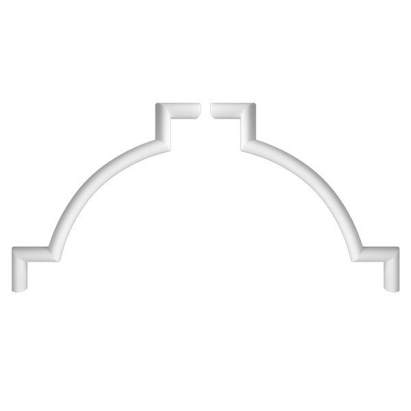Угловой элемент RODECOR Барокко 03101BR