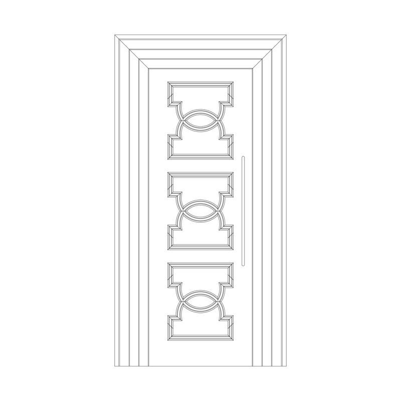 Оформление дверей RODECOR Эрте 76441AR