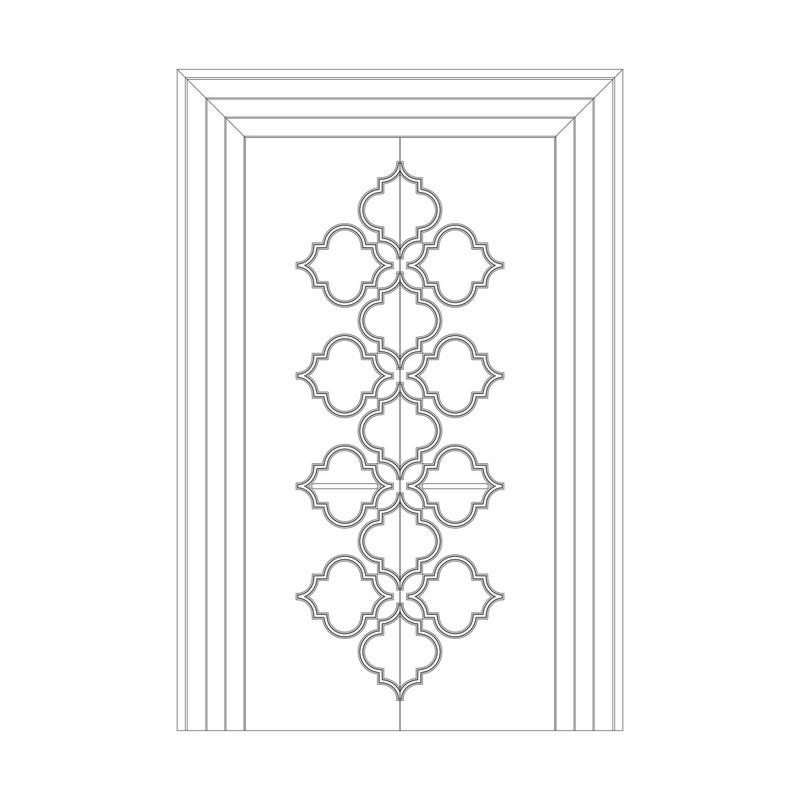 Оформление дверей RODECOR Эрте 76442AR