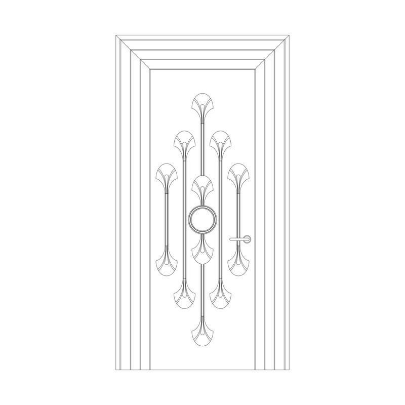 Оформление дверей RODECOR Лалик 76431AR