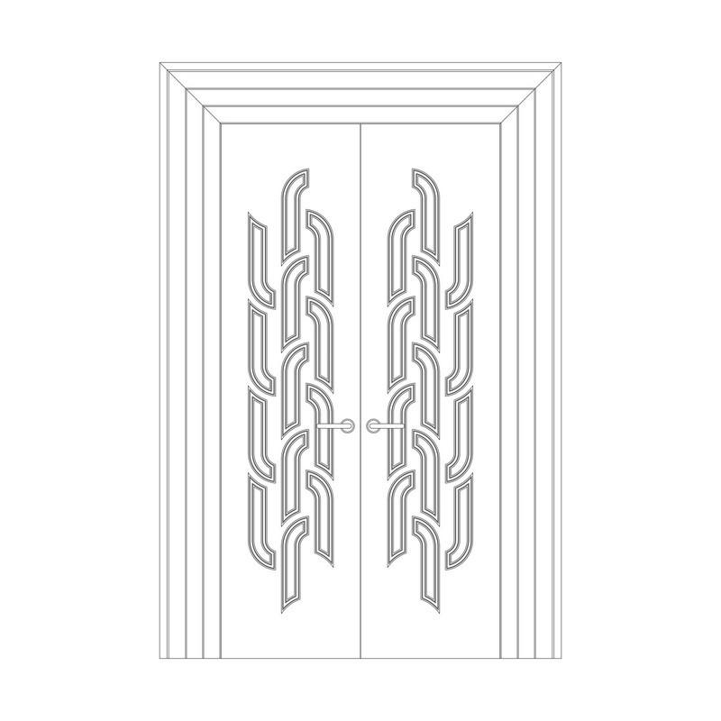 Оформление дверей RODECOR Лалик 76434AR