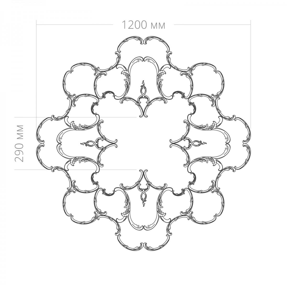 Розетка RODECOR 87015RC