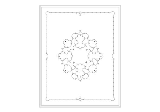 Потолок RODECOR Юсупова Ф1 88201BR