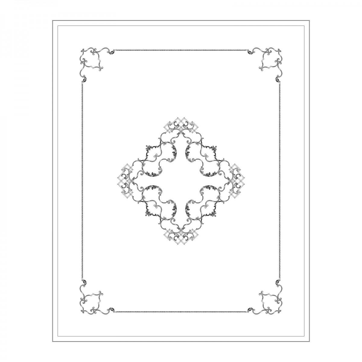 Потолок RODECOR Мандарин Ф1 88021CN
