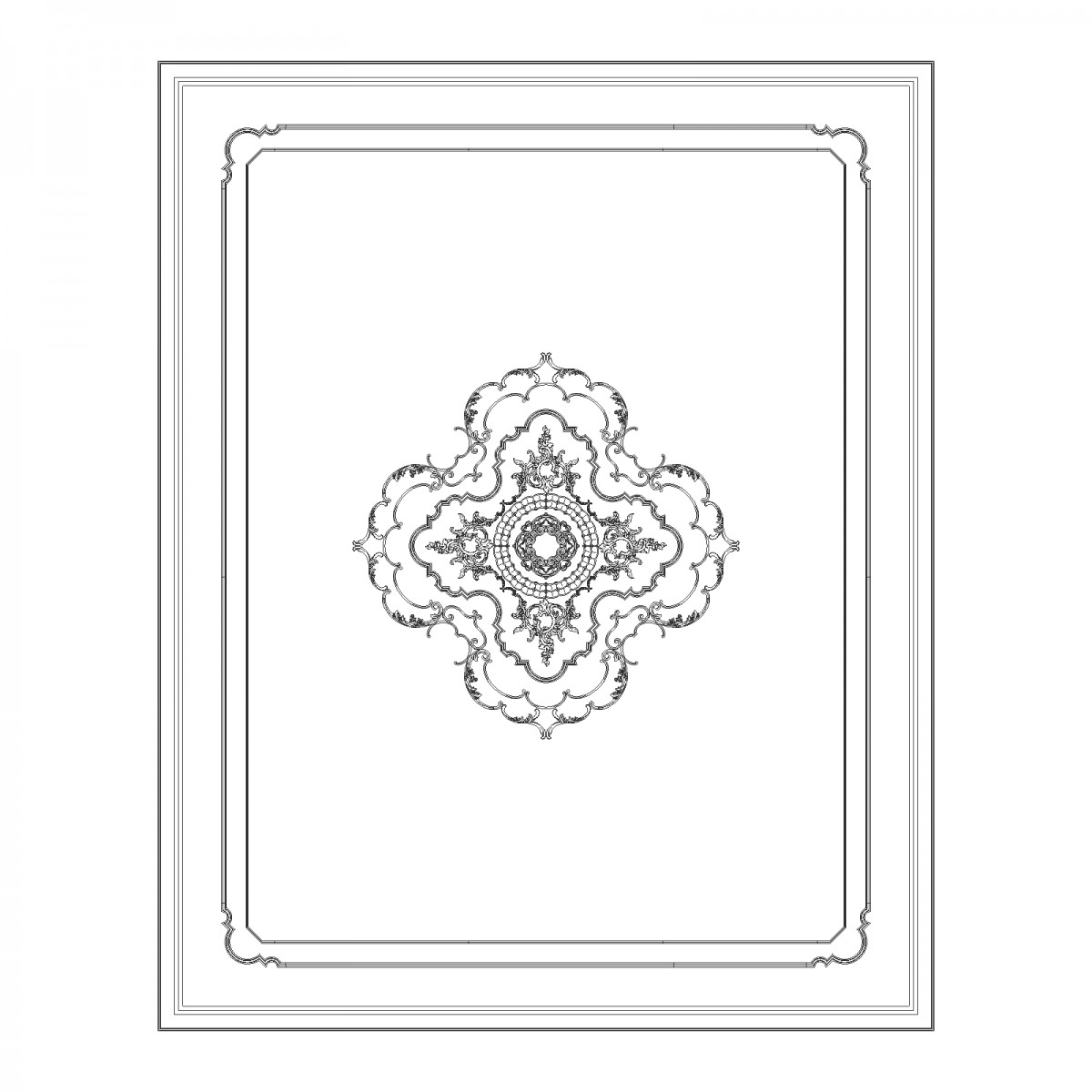 Потолок RODECOR Мандарин Ф2 88022CN